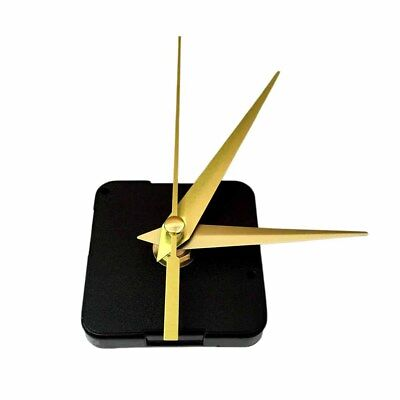 Black Hands Quartz Wall Clock Movement Mechanism Parts Repair Tool Set DIY
