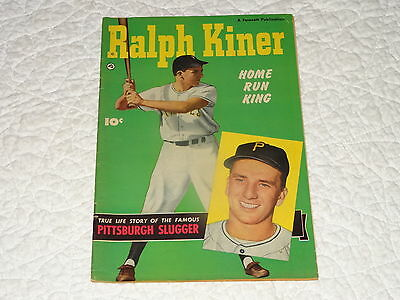 Home Run King, Ralph Kiner Of Pittsburgh Pirates