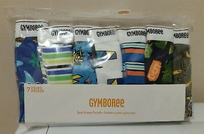 Gymboree Toddler Boys Underwear 7-packs Briefs or Boxer Briefs size XXS(2T) NEW