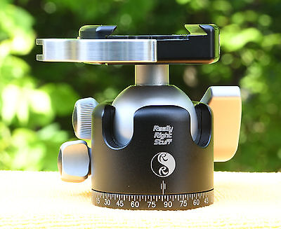 Really Right Stuff RRS BH-40 Ball Head with Compact Lever-Release Clamp w/Pouch