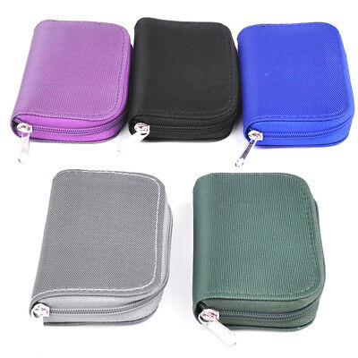 Nylon Memory Card Storage Carrying Pouch Case Holder Bag For CF/SD/SDHC/MS/DS