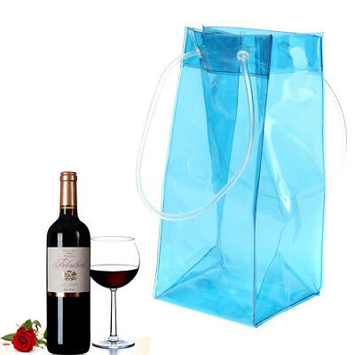 Wine Bottle Cooler Chiller Cold Bag Ice Bag Carrier With Handle For Party Picnic