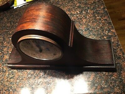 Vintage Waterbury 1928 Mantle Clock W/ Chime