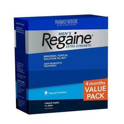 Regaine For Men Extra Strength Topical Solution Value Pack 4 Month Supply