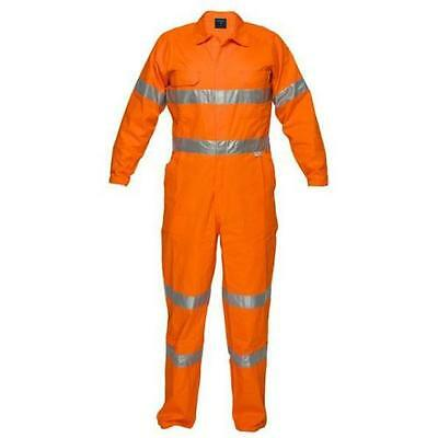 Flame Retardant Coverall with reflective tape