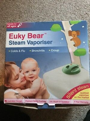 Steam Vaporiser- Euky Bear Used For A Week