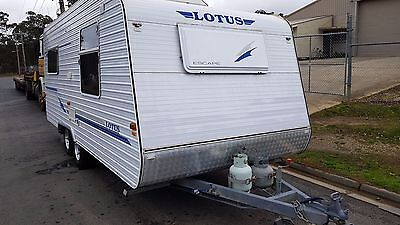2006 Lotus Escape Family Bunk Caravan Never Registered Used Onsite *WATCH VIDEO*