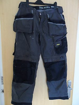Snikers Work Trousers  Size W35 L32