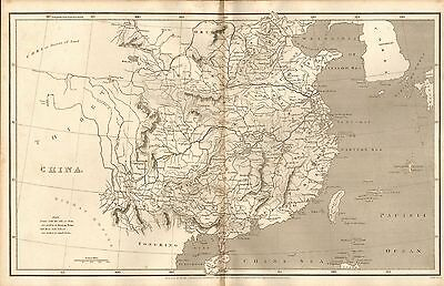 1808 Antique Map- Arrowsmith- China