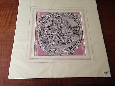 Antique French Toile Pictures