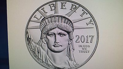 2017 W American Eagle Platinum Proof Coin Mint Sealed