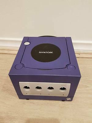 Nintendo GameCube Indigo Console ONLY REPLACEMENT PAL