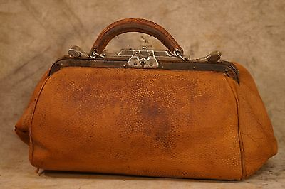 19th Century (1800's) Leather Doctor's Bag (Bag only) Reduced by $20.00