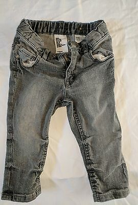 Next whitewashed skinny jeans 6-9 months