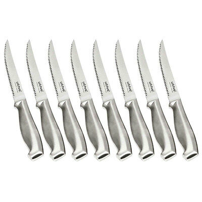 NEW Wiltshire 8 Piece 8Pcs Stainless Steel 12cm Steak Knife Set