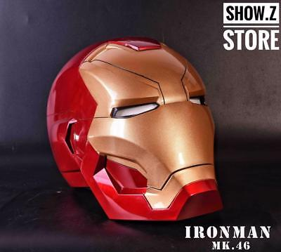 [Manual Version] CATTOYS 1:1 Iron Man MK46 LED Helmet Replica WITH LED MK 46