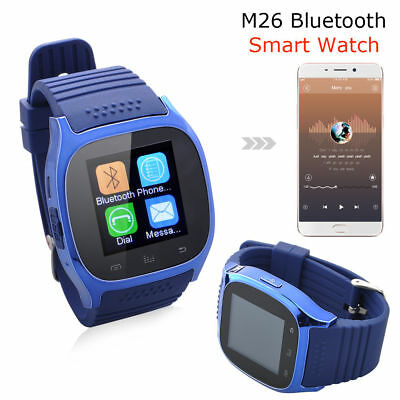 M26 Bluetooth Smart Wrist Watch Phone Mate For Android Samsung Iphone Sony