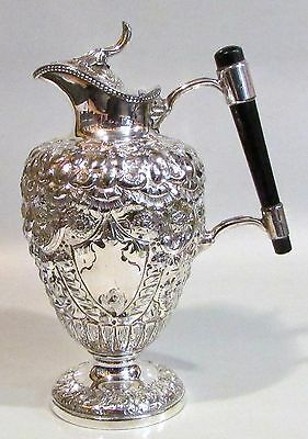 S/Plated Claret Jug, by Sturges Bladon & Middleton C 1860 Absolutely Stunning