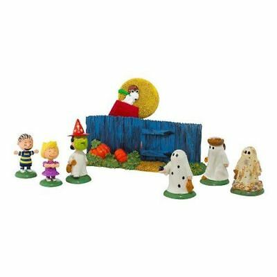 New Dept56 Peanuts The Great Pumpkin Is Coming Figurine
