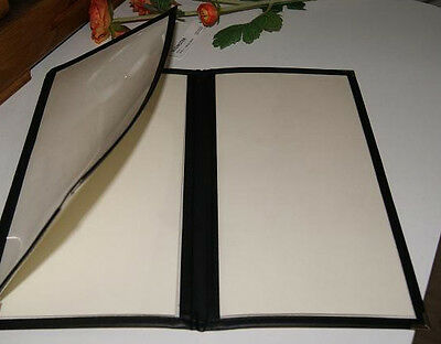 2/3A4 Bistro Menu Cover with 3 panels (brown color only)