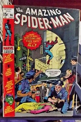 Marvel Comics Group Present The Amazing Spider-Man Vol 1 #96 May 1971