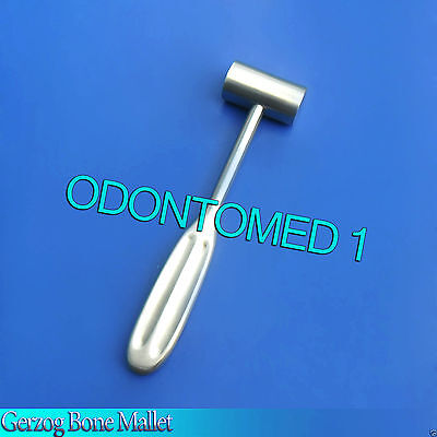 "Gerzog Mallet Orthopedic Surgical Dental Instruments 7.50"" (19.1cm) HEAD 8.00 OZ"