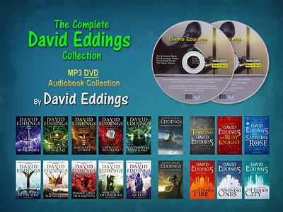 The DAVID EDDINGS Fantasy Collection (18 MP3 Audiobooks)