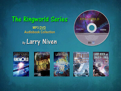 The Complete Original RINGWORLD Series By Larry Niven (5 MP3 Audiobooks)