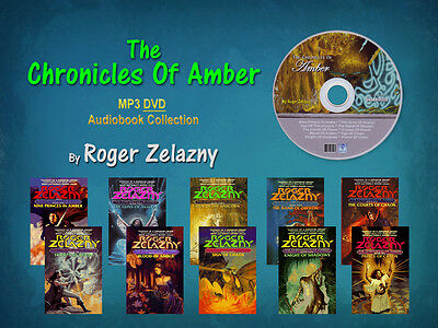 The Complete CHRONICLES OF AMBER Series By Roger Zelazny (10 MP3 Audiobooks)