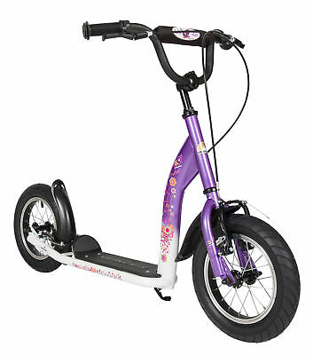 BIKESTAR® Premium Children Push Scooter Kids 7+ | 12s Sport | Lilac & White