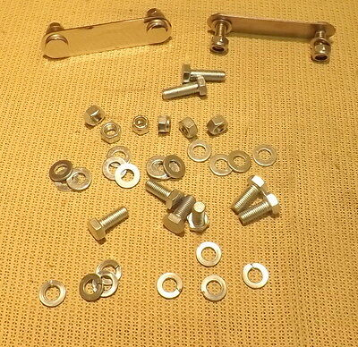 Classic Mini Front Dry Subframe Fitting Kit 1976 Onwards - Kgb10022Fk