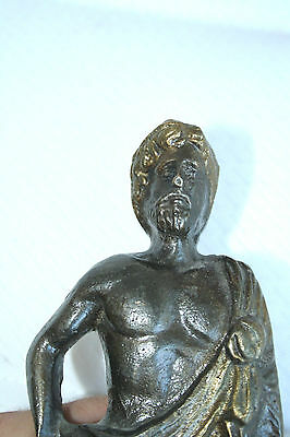 Vintage Brass Ancient Greek statue 21cm or 8.26in