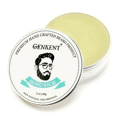 60g Natural Beard Balm Organic Conditioner Beard Oil Wax Effect Care Profesional