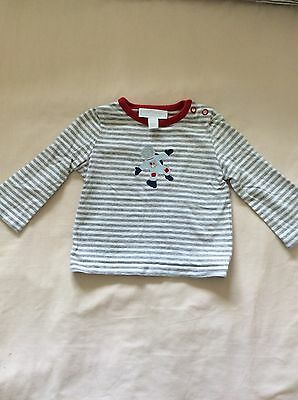 Little White Company astronaut motif top, age 0-3 months. Great condition