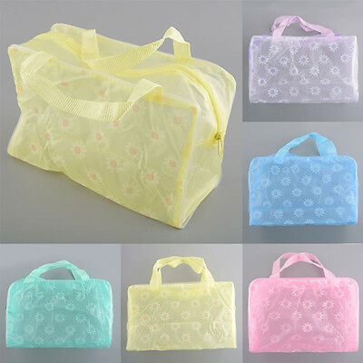 Transparent Waterproof Make Up/Wash Bag (INT)