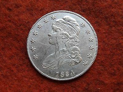 1834 Capped Bust Half Dollar