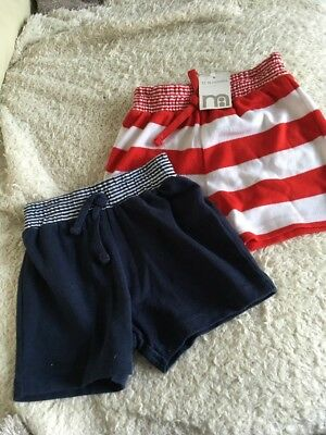 Boys Mothercare Shorts 12-18 Months