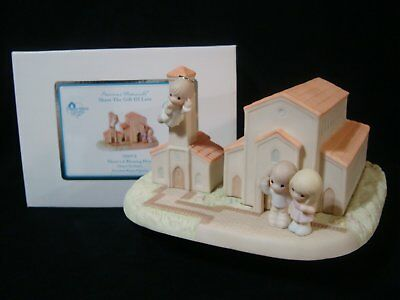 ct Precious Moments-Rare-There's A Blessing Here-HUGE Chapel Exclusive LE