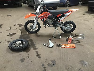 2014 KTM SX  ktm 50 2014 mini sx with extras.  No shipping pick up only with cash