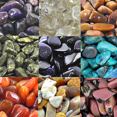 Natural Healing Crystals Reiki Chakra Rare Gemstones Massive Choice Sets of 10