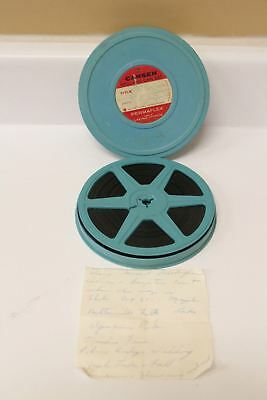 Vintage Found Mystery Film 8MM Reel To Reel Dated 1961