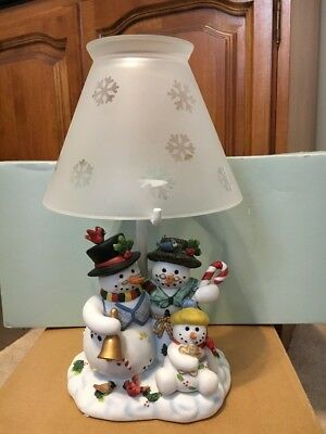 Snowbell Family Partylite Tealight Lamp P7866
