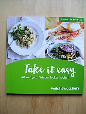 "Weight Watchers "" Take it easy"" neu 2017 Freundschaftsedition"