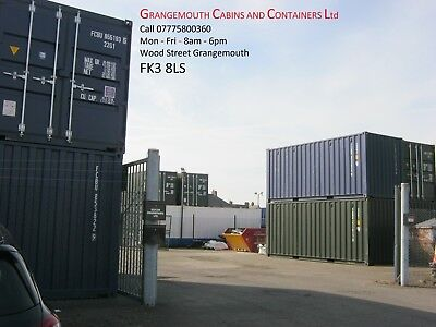 new 20ft One Trip Shipping Container's For Sale Scotland ONLY £2095+VAT IN STOCK
