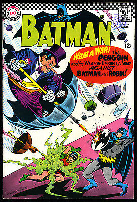 Dc 1967 Batman Comic #190 Penguin Story Cover By Carmine Infantino & Joe Giella