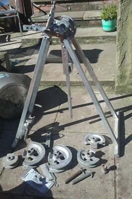 Hilmor Condy Bend  pipe bender with extra bits and instructions .