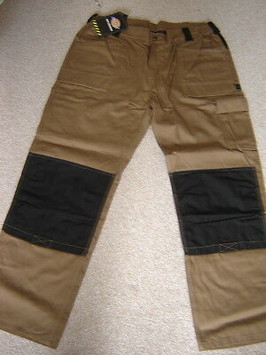 Mens Dickies Delta Workwear Trousers Size Xl 42/44 R New With Tags