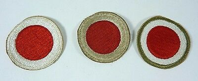 Vintage Lot of 3 Military Patches lot e NOAG