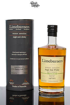 Limeburners Sherry Cask Strength Western Australian Single Malt Whisky