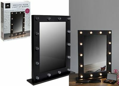 New Modern Hollywood 10 Led Light Bulb Vanity Mirror Dressing Table Mirror Frame